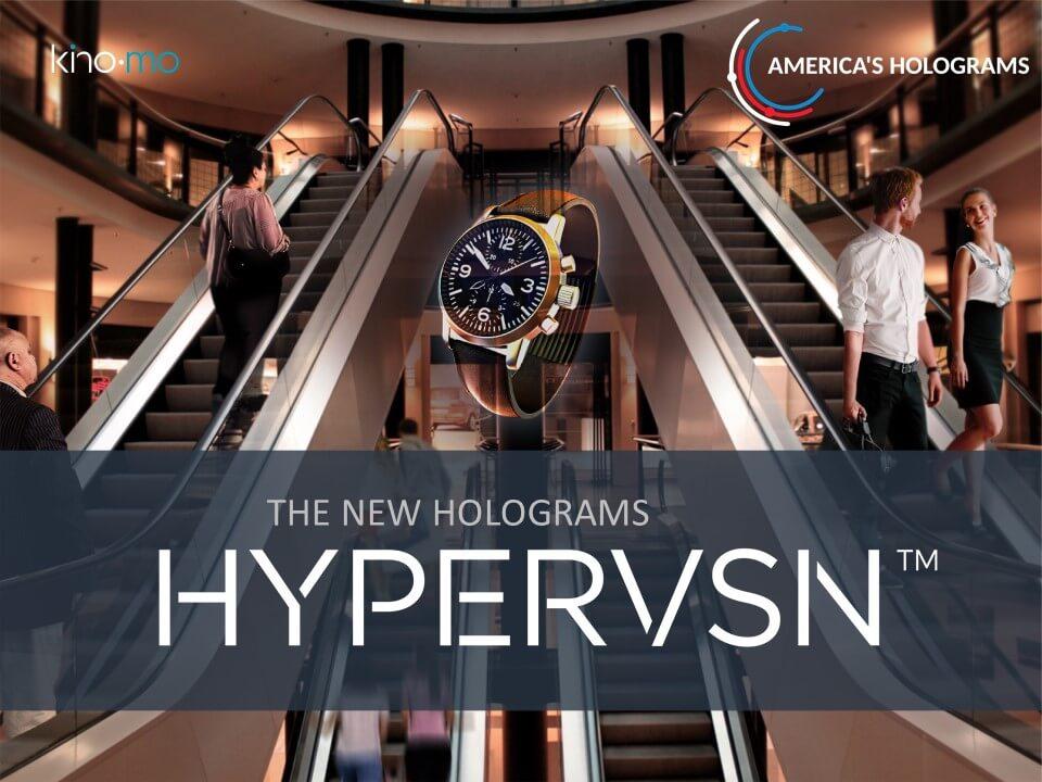 Hypervsn by Kino-mo Americas holograms