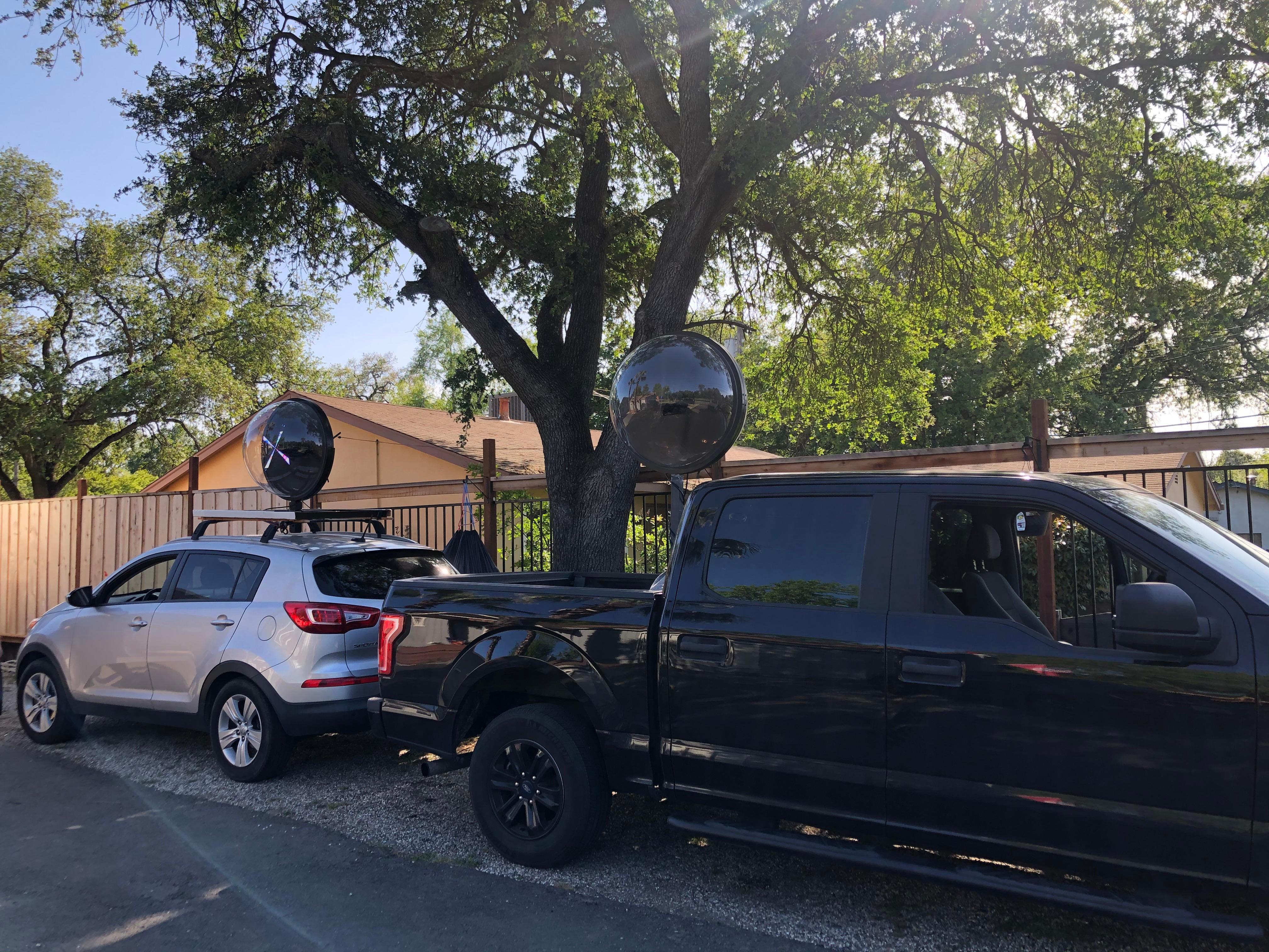 Sacramento Hologram Truck